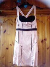 Satin pink dress