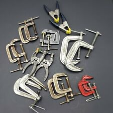Mix Lot of 9 Sets of Clamps Various Sizes & Brands Aircraft Tools $.99 Auction