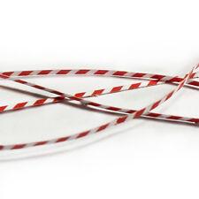 RED & WHITE WARNING TAPE LASER CUT KIT OO SCALE 1:76 MODEL RAILWAY AX80-OO