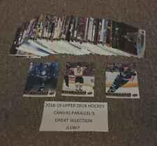 TUUKKA RASK 2018-19 18-19 UPPER DECK CANVAS PARALLEL #C8 BRUINS