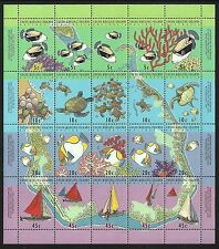 Mint Never Hinged/MNH Fish Sheet Stamps