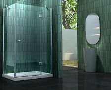 SILL 120x100x200cm Glas Duschkabine + Duschtasse Duschtür Dusche Duschabtrennung
