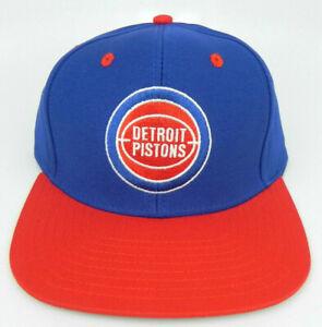 DETROIT PISTONS NBA VINTAGE STYLE SNAPBACK RETRO 2-TONE ADIDAS CAP HAT NEW!
