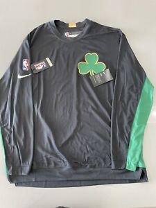 NEW!! Nike Boston Celtics Shooting Shirt Men's MED NBA Player Issued AV0984-010