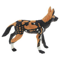 Wild Animals Figures Ornamnet Animals African Wild Dog Action Model Toy Gift