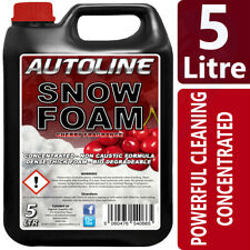 Autoline Snow Foam shampoo high gloss wax cherry fragrance 5L GREAT OFFER !