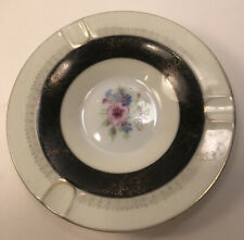 VINTAGE ROSSETTI OCCUPIED JAPAN HAND PAINTED ASHTRAY