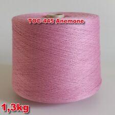 445 Anemone TVU Ocean Nm 30/2 Baumwolle Acryl Strickgarn Häkelgarn Garn Kone