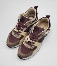 VALENTINO Women Suede / Leather / Fabric Sneakers Size 37 EU / 7 US $479 NWOB