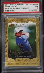 Rory McIlroy ROOKIE AUTOGRAPH 2014 Upper Deck Exquisite Masterpiece RC eBay 1/1