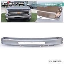Chrome Steel Front Bumper Impact Face Bar Fit For 2007 2013 Chevy Silverado 1500 Fits 2013 Silverado 1500