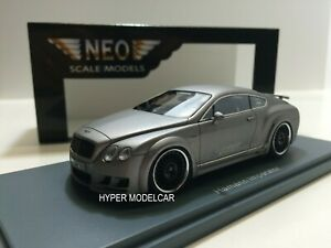 NEO SCALE MODELS 1/43 Bentley Continental Gt Hamann Imperator 2011 Art.NEO45700