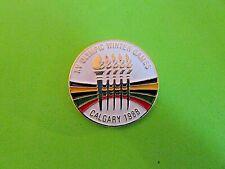 1988 Calgary Olympic Winter Games Pin