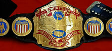 NWA United States Heavyweight Wrestling Champion Belt 4MM Zinc & 24K Gold Plated