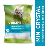 Vibrant Life Mini Crystal Unscented Cat Litter 8 lb (Keep Home Smelling Fresh)