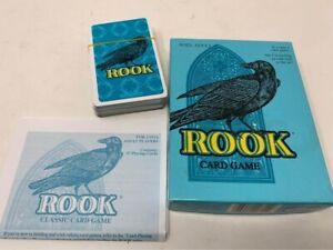 Rook Card Game Hasbro/Parker Brothers blue box 2-6 Players complete