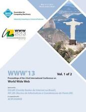 Www 13 Vol 1 by Www Vol 1 Conference Committee (2013, Paperback)