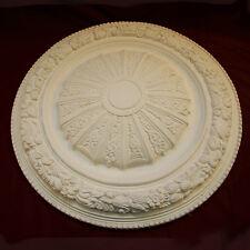 Ceiling Rose - Centre. Fine Plaster. Handmade in Kent. Victorian 540mm