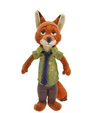 "Disney Store Zootopia 13"" Nick Wilde Plush"