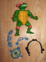 tmnt BREAK FIGHTIN RAPH figure complete  teenage mutant ninja turtles raphael