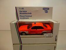 SCHABAK 1156 BMW 535i E34 NOTRUF 112 - ORANGE 1:43 - VERY GOOD IN BOX