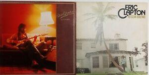 Eric clapton 461 ocean boulevard And Backless Vinyl Album Lot LP Records rock