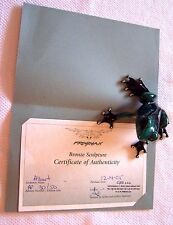 """Albert"" by Frogman Tim Cotterill Signed Artist Proof 30/50 Bronze Frog"