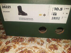 """Danner Stalwart 8"""" Black Boot Men's 10.5 EE (#26221)"""