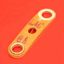FUSIBLE PLAQUETTE CARTON 20mm 8A VINTAGE REMPLACE PLOMB SUR FUSIBLE PORCELAINE