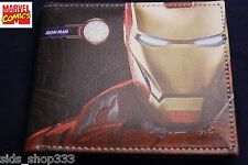 IRON MAN AOC! bi fold wallet X-Men deadpool Marvel Comics US Seller avengers