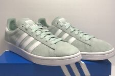 Adidas Mens Size 9 Originals Campus Suede Green White Classic Sneaker