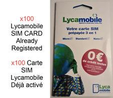 Numero Facile Carte SIM Prépayée Lycamobile 07.51.05.23.23