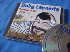 RARE CD / boby lapointe comprend qui peut philips 822 408-2