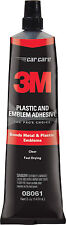 3M 08061 Plastic & Emblem Adhesive Made in USA 5 ounces