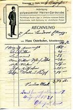 Rechnung -1921-Hans Osterhuber-Schneidermeister-Kranzegg -im Allgäu-