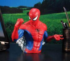MARVEL SUPERHERO SPIDER-MAN DC COMICS FIGURE DIORAMA MODEL COIN PIGGY BANK A159