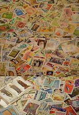 Welt papierfrei nur Großformatige Marken!world big size stamps! 2000 Briefmarken