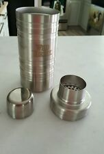 Wild Turkey Stainless Steel Cocktail Shaker NEW