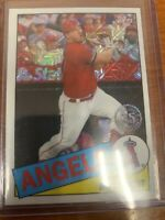 2020 Update Silver Pack 1985 Topps Chrome Baseball Mike Trout #CPC-45