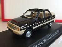 Norev Citroën Visa Décapotable 1984 Vison Brown 1/43 150943