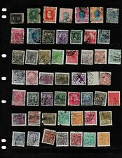 BRAZIL :NICE 'VINTAGE'  STAMP COLLECTION   DISPLAYED ON 5 SHEETS. SEE SCANS