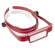 Donegan Red OptiSight® Binocular Magnifying Visor Set w/3, 4, & 5 Power Lenses
