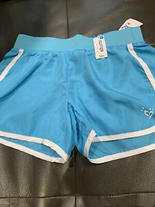 Nwt Justice Shorts Size 5 Woven Blue  Summer