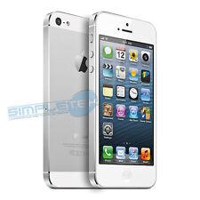 APPLE IPHONE 5 16 GB BLANCO+ACCESORIOS TELÉFONO INTELIGENTE REACONDICIONADOS