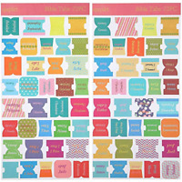 72 Pieces Bible Tabs Peel And Stick Decorative Bible Tabs 66 Book Tabs 6 Blan...