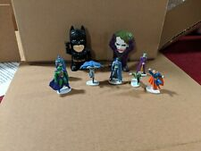 DC Comics Miniature Figures Batman, Joker, Superman, Green Lantern, Martian Hunt
