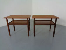 Mid-Century Danish Teak Bedside Tables (2)