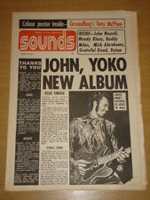 SOUNDS 1972 APR 15 JOHN YOKO LENNON GRATEFUL DEAD <