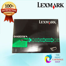 New & Genuine Lexmark 64480XW Black Extra High Yield Toner Cartridge T644