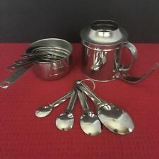 Stainless Measuring Set ~ Cups ~ Spoons ~Sifter